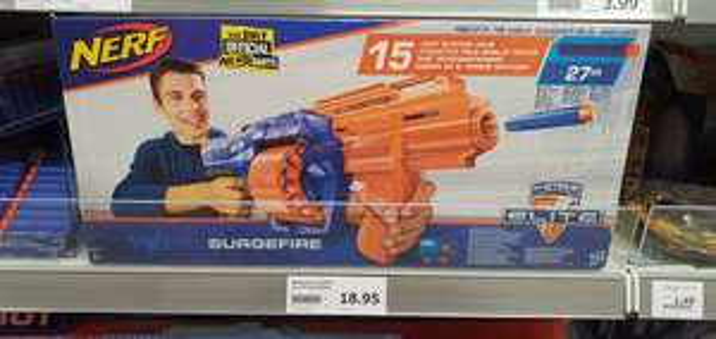 Nerf Surgefire (incl. 15 darts)