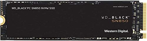 WD Black NVMe SSD SN850 2TB PCIe Gen 4 x 4 (zonder heatsink)