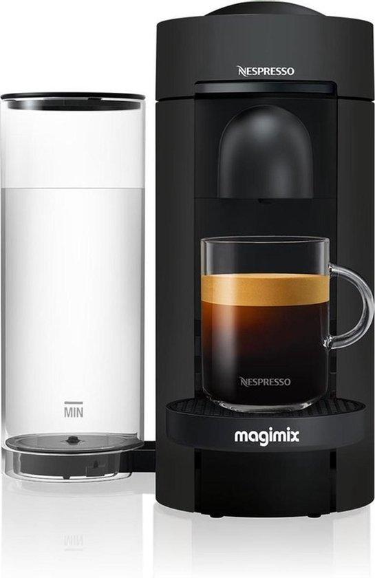 Magimix Nespresso - Mat Zwart- Vertuo Plus - Koffiecupmachine