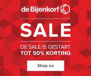 De Bijenkorf Sale tot 50%+ op 1000 topartikelen