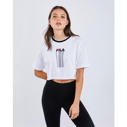 Fila Zena dames crop T-shirt voor €4,99 @ Foot Locker