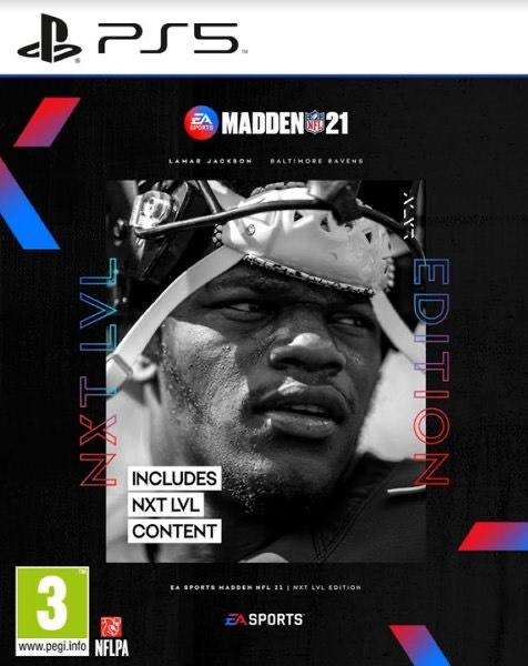 PS5 Madden 21 NXT LVL edition