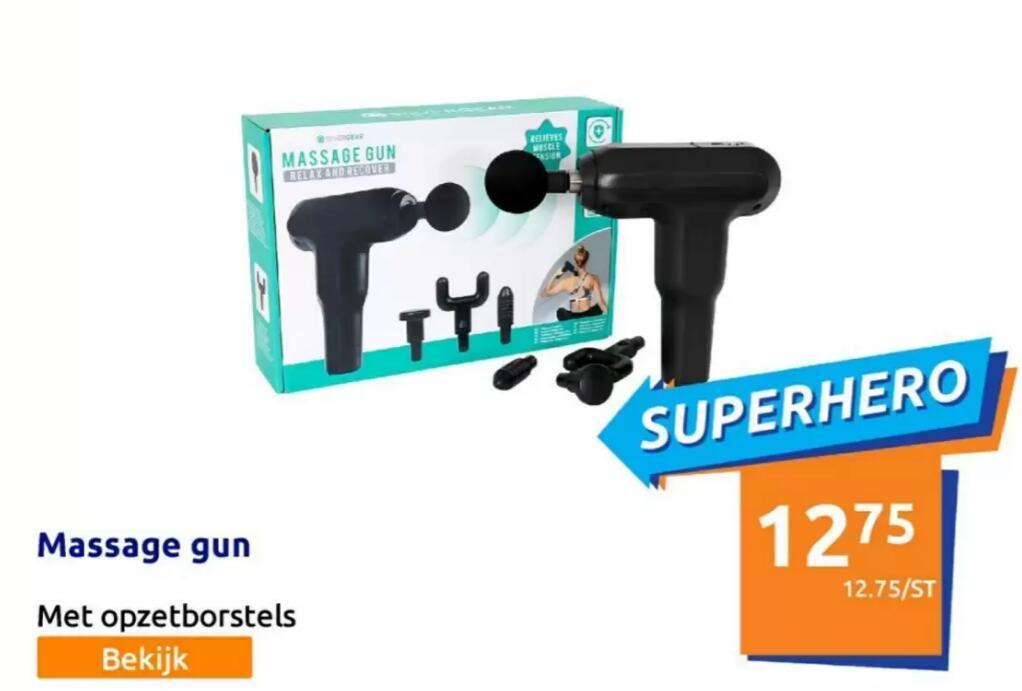 Silvergear Massage Gun Standaard @ Action