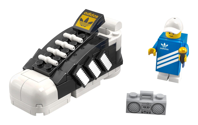 Lego: gratis mini-Adidas schoen (bij aankoop vanaf 95 euro)