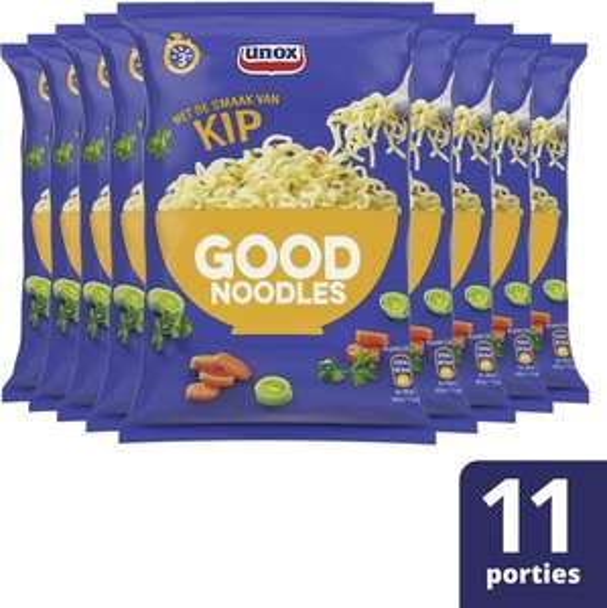11x Unox Good Noodles Kip of Groenten @ Bol.com