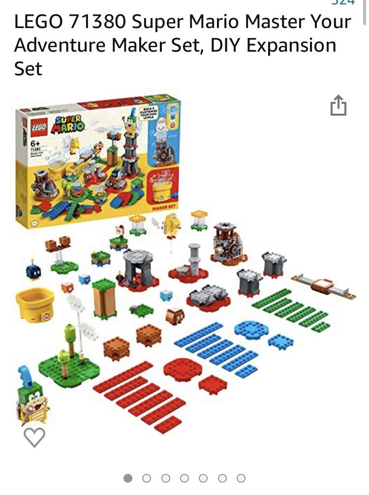 LEGO 71380 Super Mario Master Je Adventure Maker-set