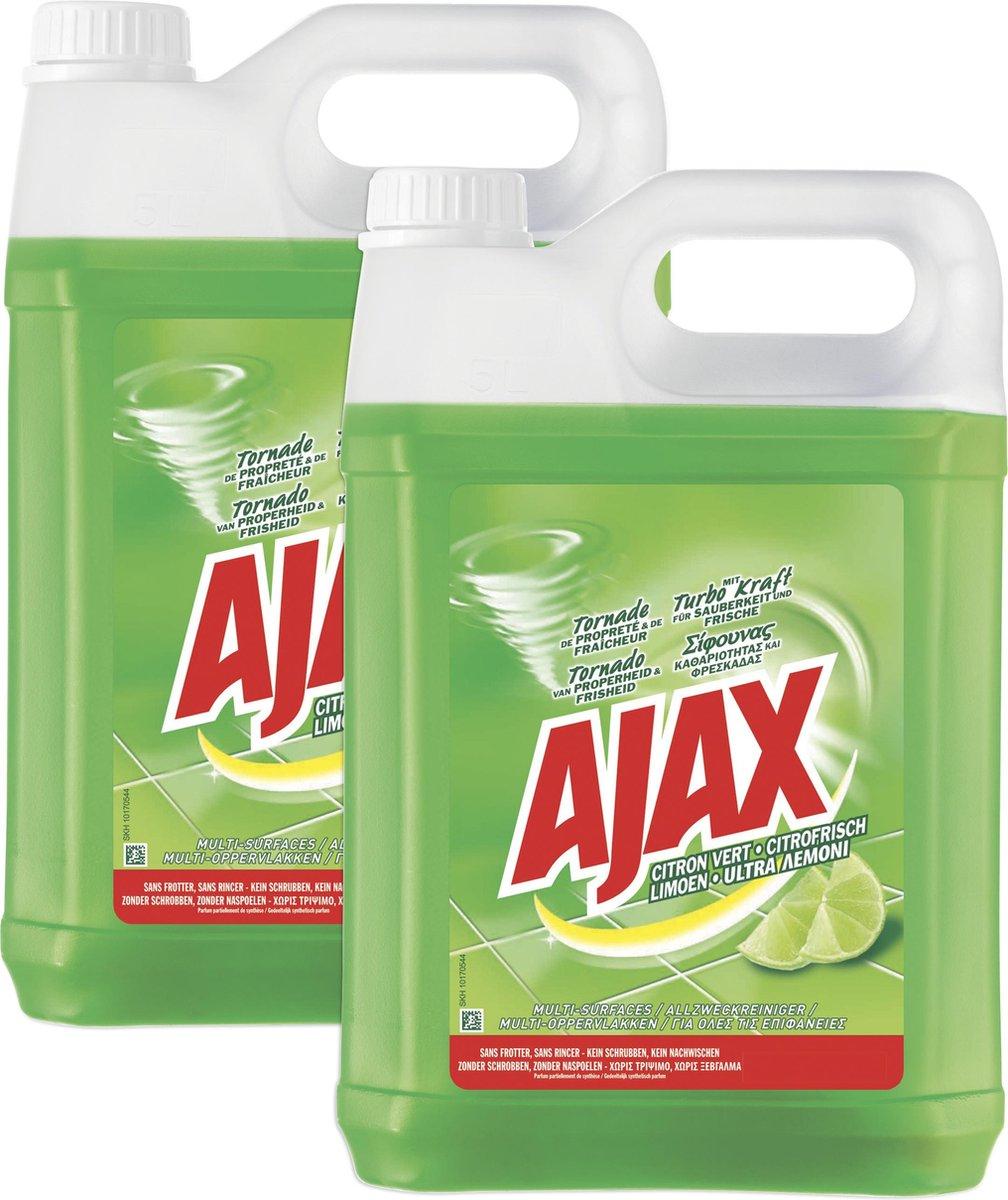 Ajax Allesreiniger - 2 x 5L (€4,64 per stuk)