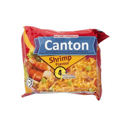 Canton Instant noodles garnaal 65 g 5x voor 0,99