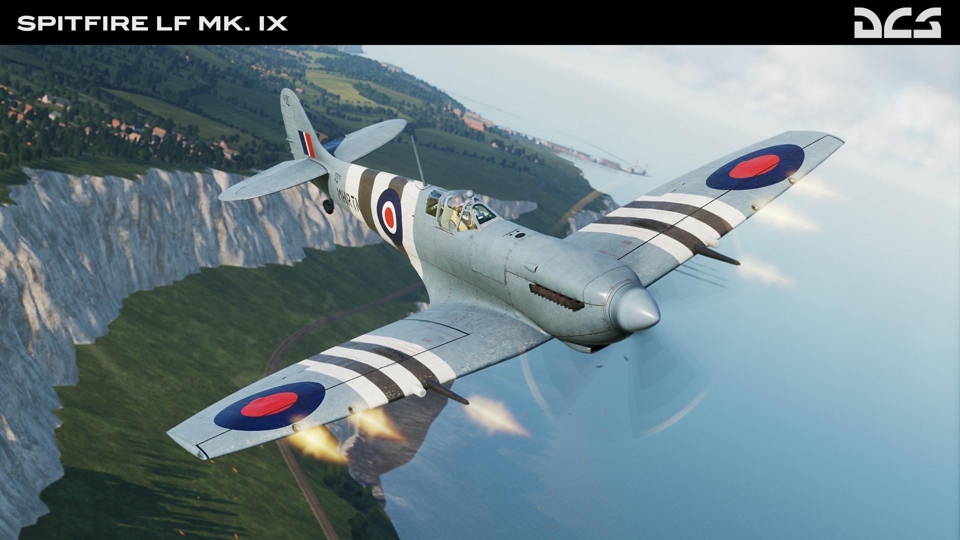 DCS: Spitfire LF Mk. IX