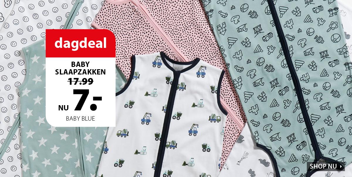 Dagdeal: babyslaapzakken 7 euro