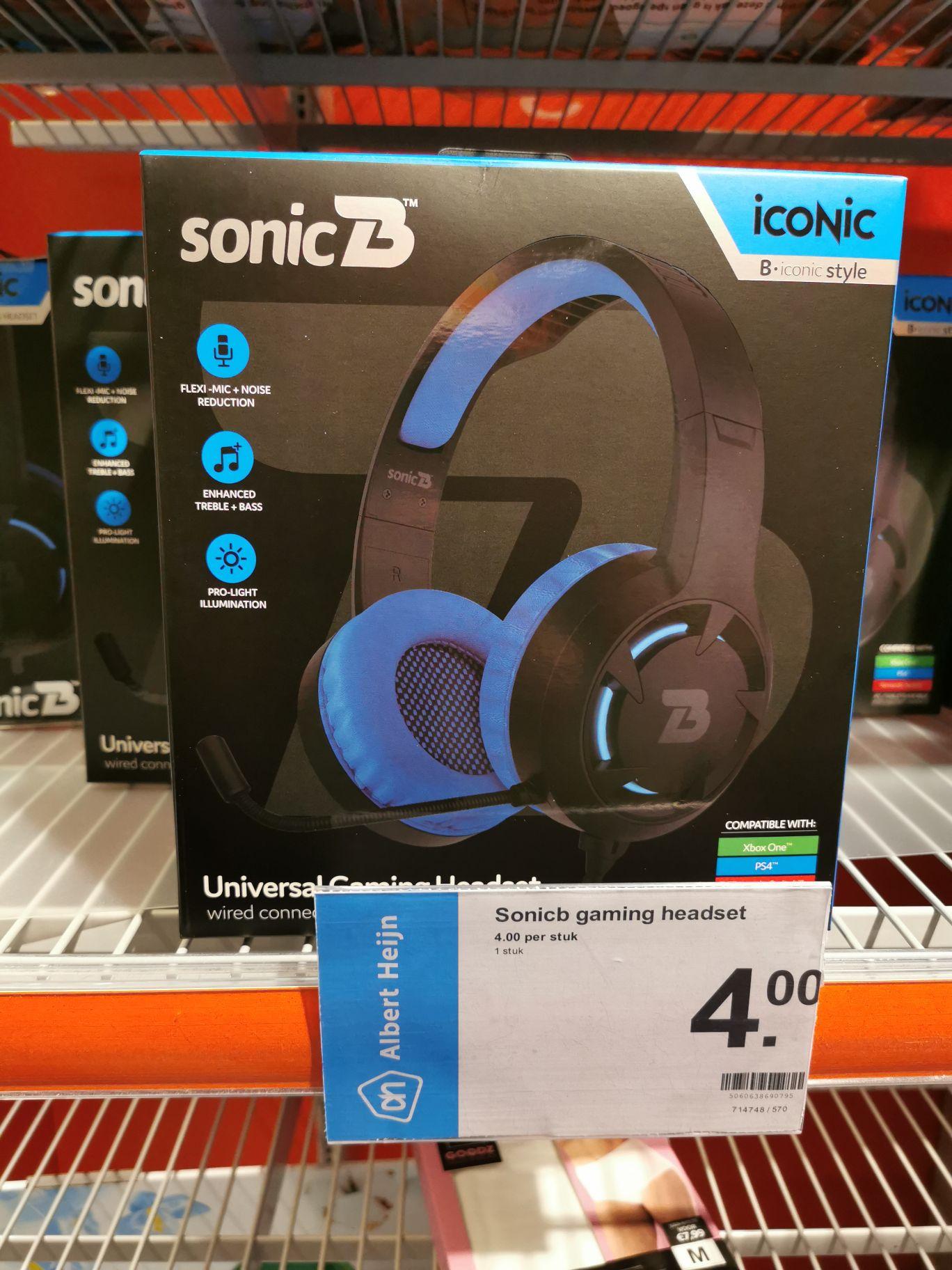 Gaming headset (AH lokaal Roden)