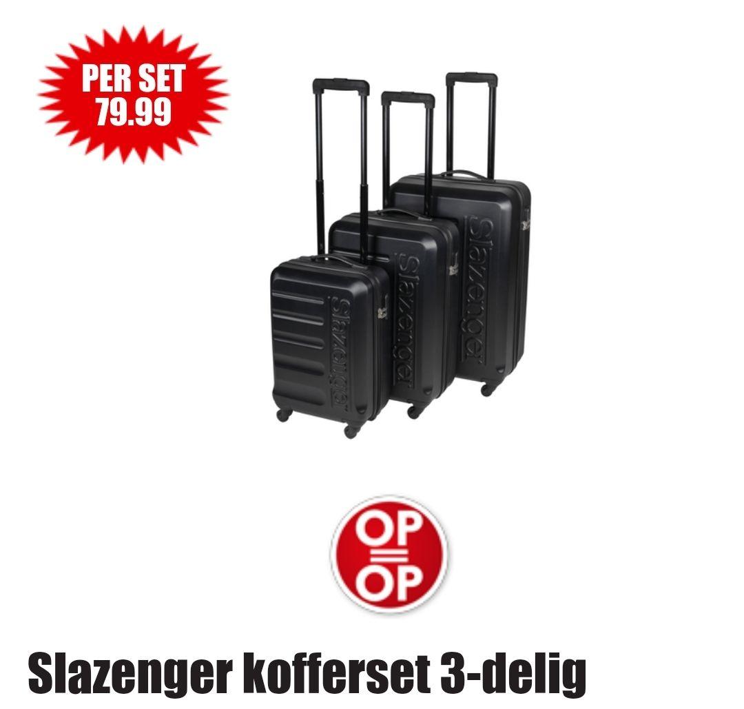 DIRK Slazenger kofferset 3-delig 79.99