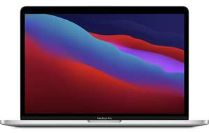 Apple MacBook Pro with Apple M1 chip (13-inch, 8GB RAM, 256GB SSD) - Silver