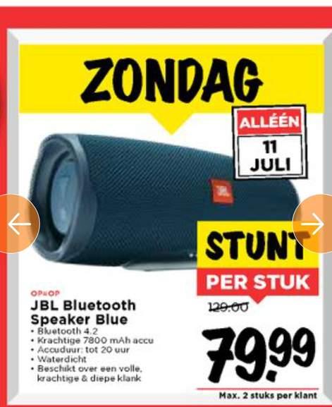 JBL Charge 4 Blue Vomar