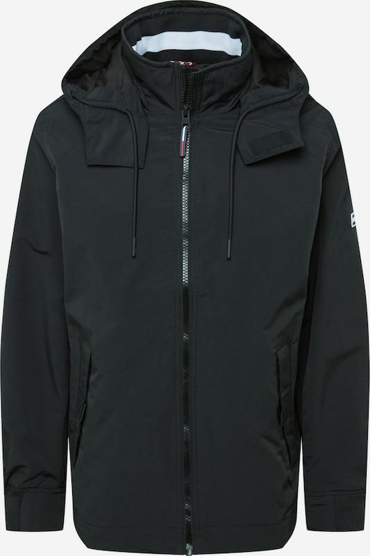Tommy Jeans jas zwart