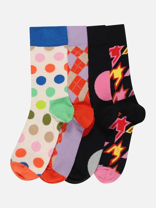 Happy Socks 4-pack sokken 'New Classics' [waren €34,90]