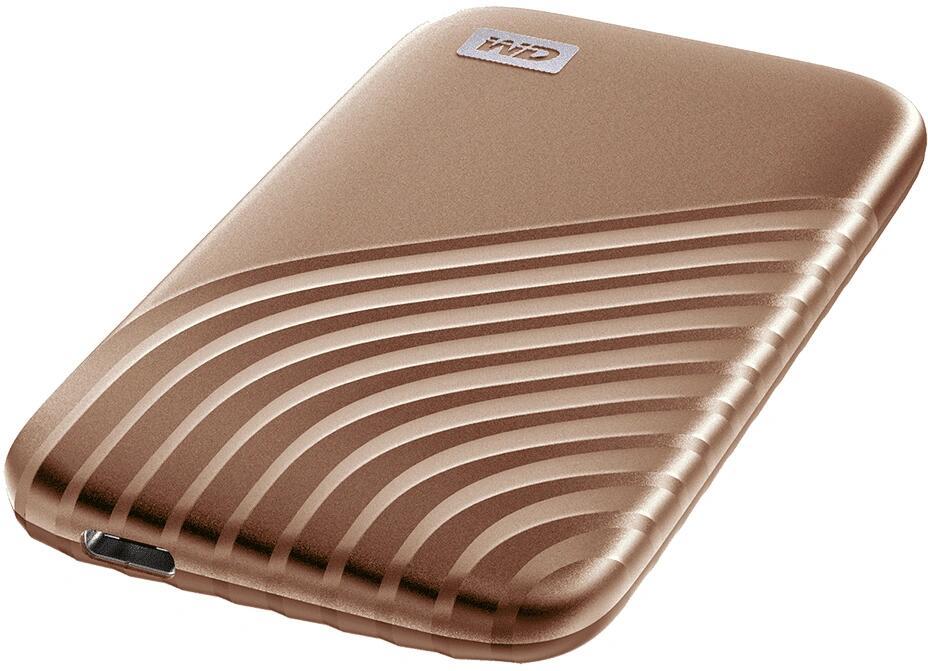 Western Digital MyPassport 2TB Gold SSD bij MeGekko met 45 procent korting.