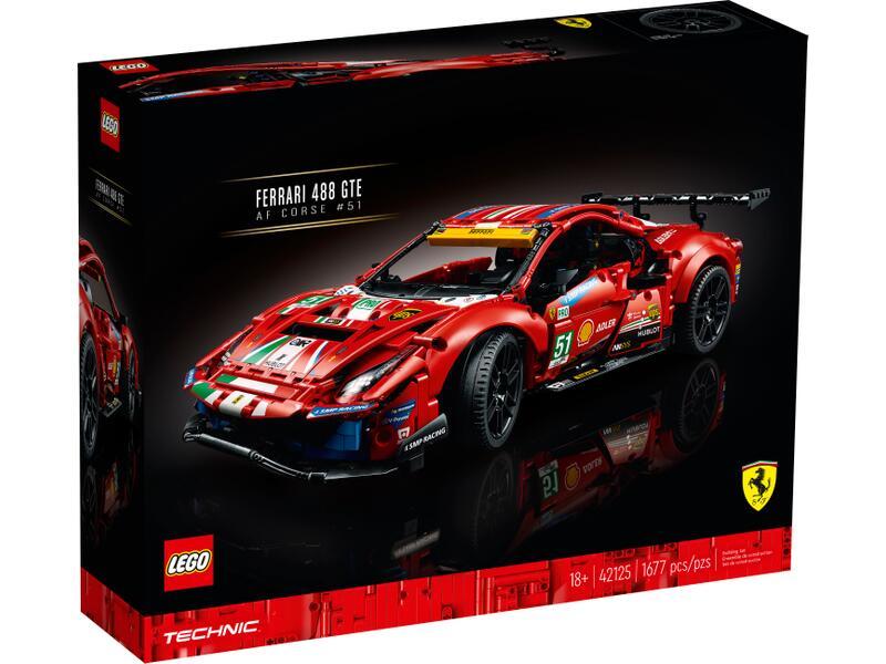 "[Kruidvat voordeelclub] - Lego Ferrari 488 GTE ""AF Corse #51"" (42125)"