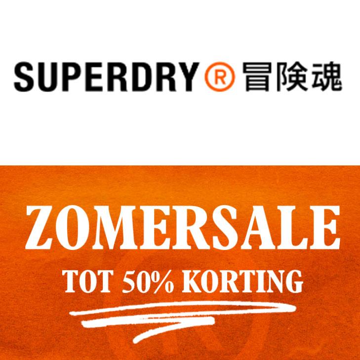 SALE: veel met 50% korting @ SUPERDRY