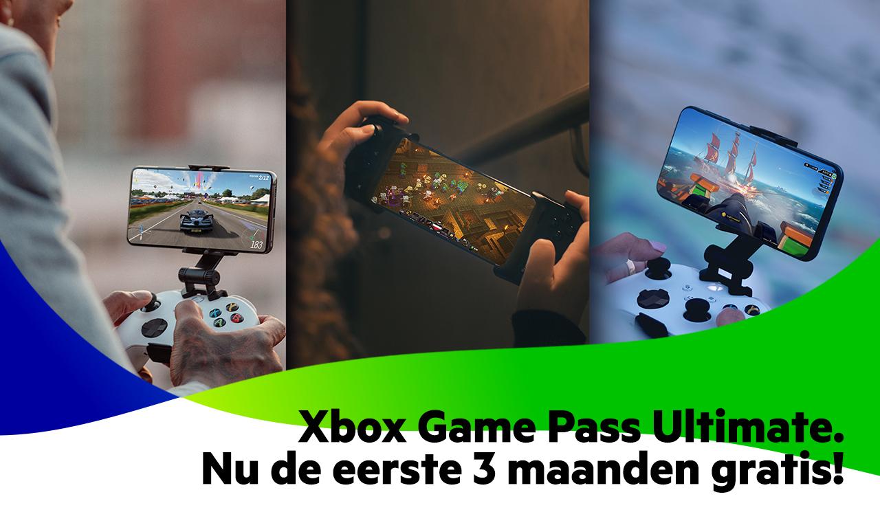 3 maanden Game Pass Ultimate via KPN