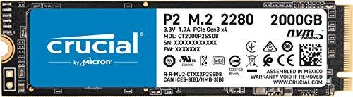 Crucial P2 2TB NVME SSD