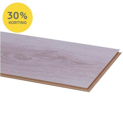 30% korting op alle PVC en laminaat vloeren