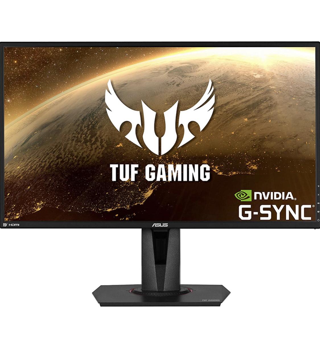 """Asus VG27AQ TUF gaming 27"""" IPS 165hz 1ms g-sync monitor @ Amazon.nl"""