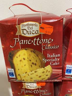 Lokaal? Panettone Classico (cake) voor 25 cent