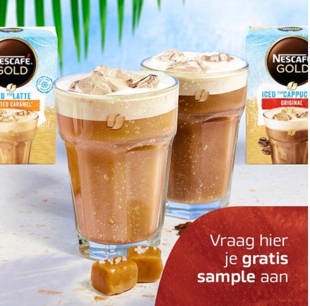 Facebookactie: Nescafé Iced Coffee, vraag een gratis sample aan