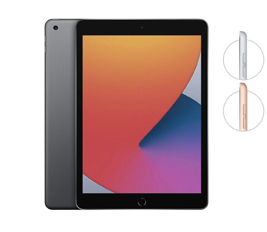 Apple iPad (2020) Wi-Fi 32GB - Goud & Zilver