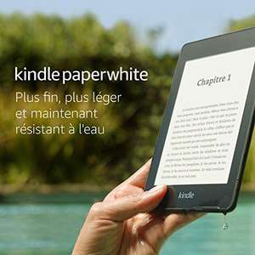Amazon Kindle Paperwhite 2018 via Amazon.FR