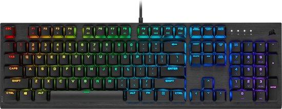 Corsair K60 RGB Pro (MX Speed Low Profile, Qwerty US)