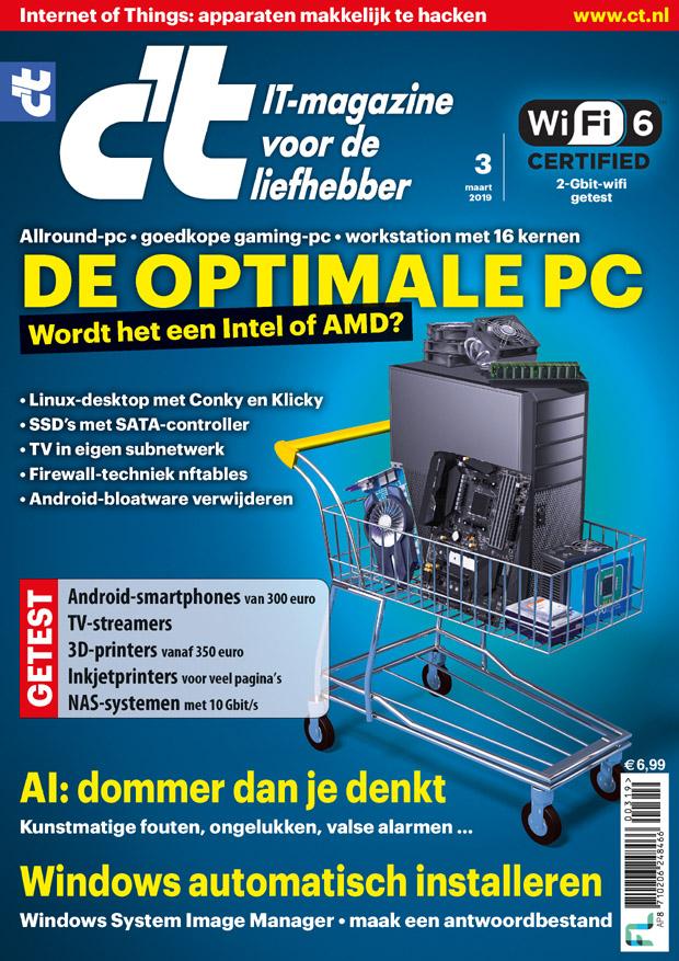 40 euro voor een jaarabonnement op c't Magazine