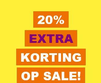 SALE tot -70+% + 20% EXTRA korting