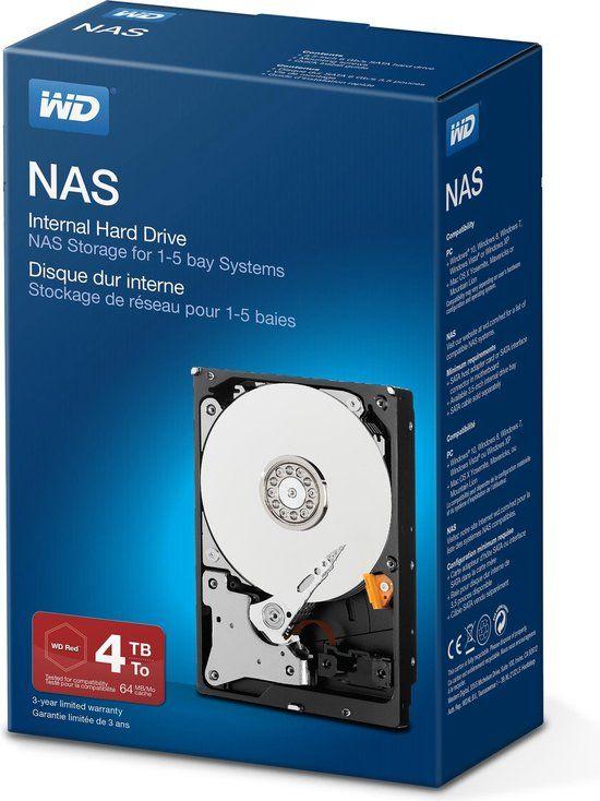 Western Digital 4TB NAS-schijf (Red)