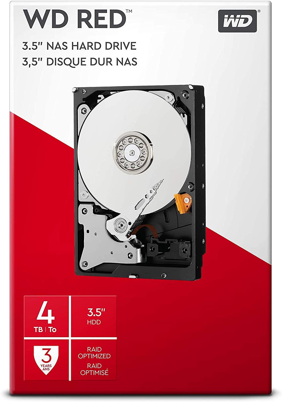 Western Digital WDBMMA0040HNC-ERSN Red Desktop HDD 4 Tb
