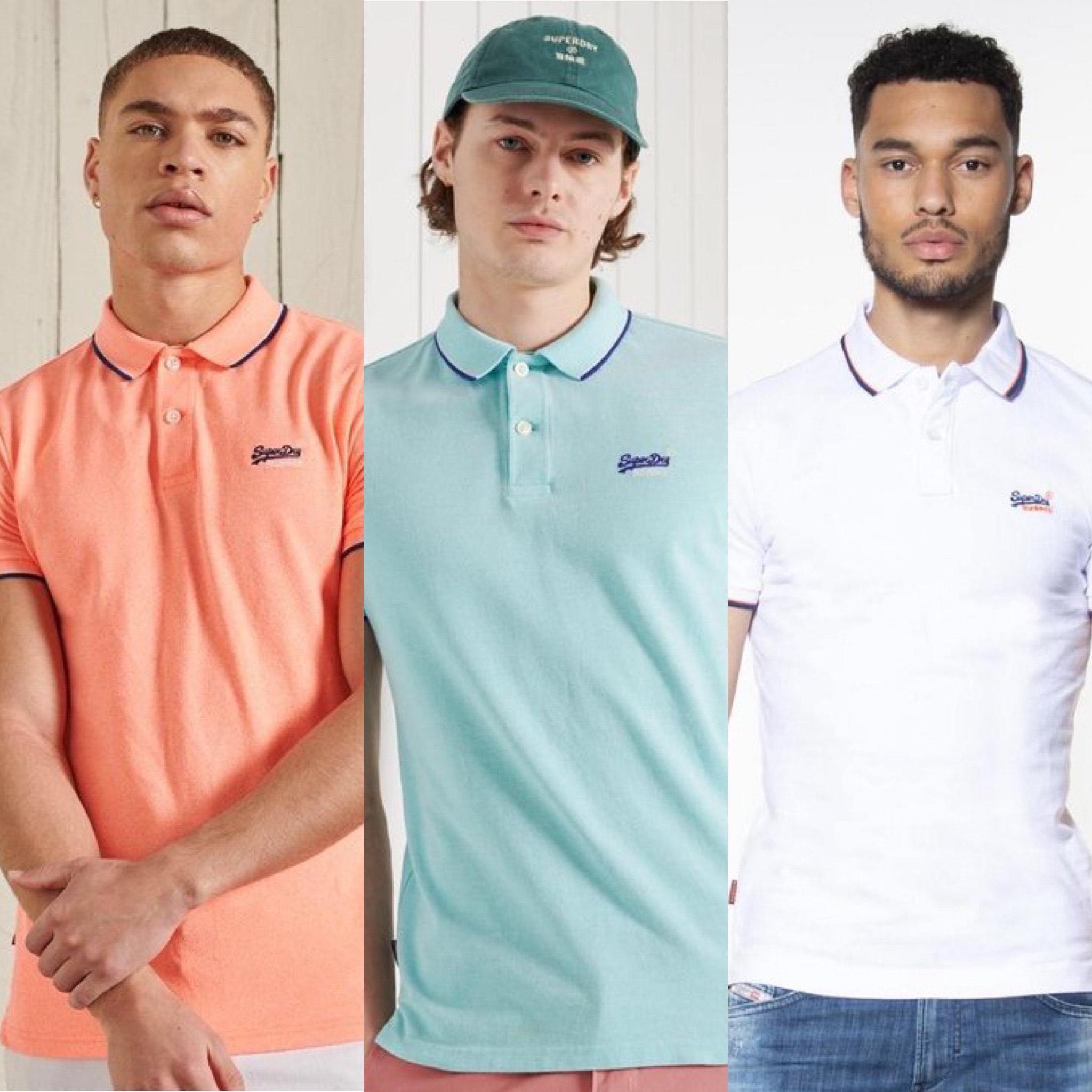 Superdry polo's (meerdere kleuren en maten) @ Amazon.nl