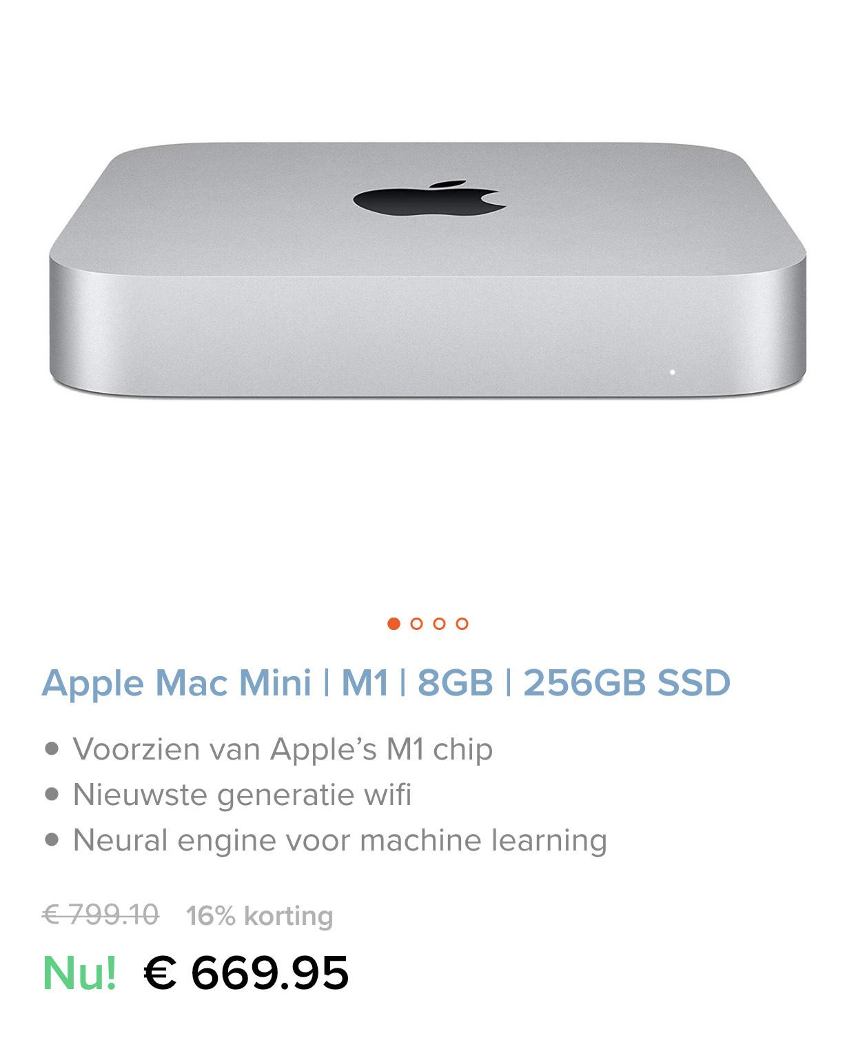 Apple Mac Mini | M1 | 8GB | 256GB SSD
