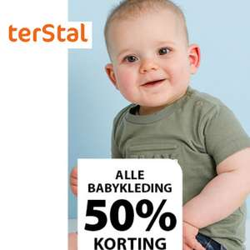 Alle babykleding -50% [ook sale] -10% extra [code] = vanaf €1,19