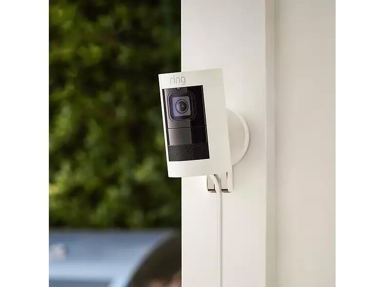 Ring Stick Up Cam Elite Wired Wit voor €116,99 @ MediaMarkt