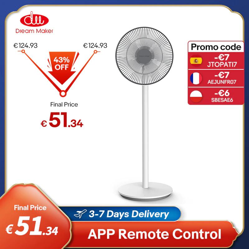 Dream Maker smart ventilator met/zonder accu - uit EU