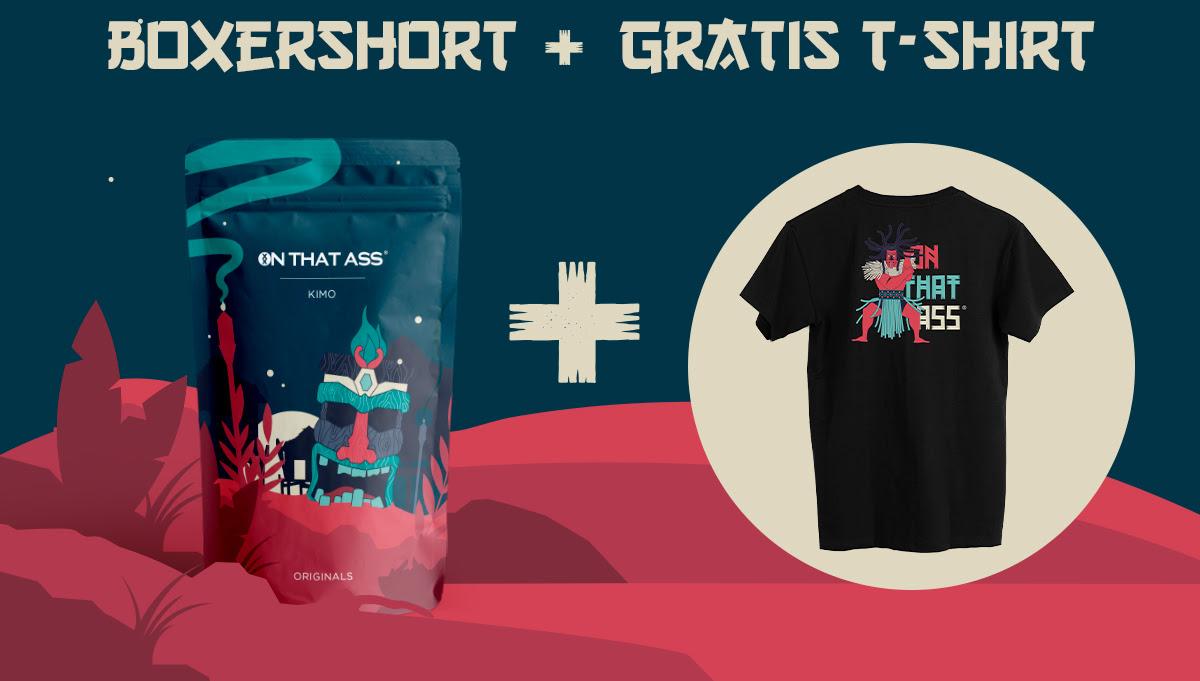 Gratis t-shirt bij reactiveren membership OnThatAss