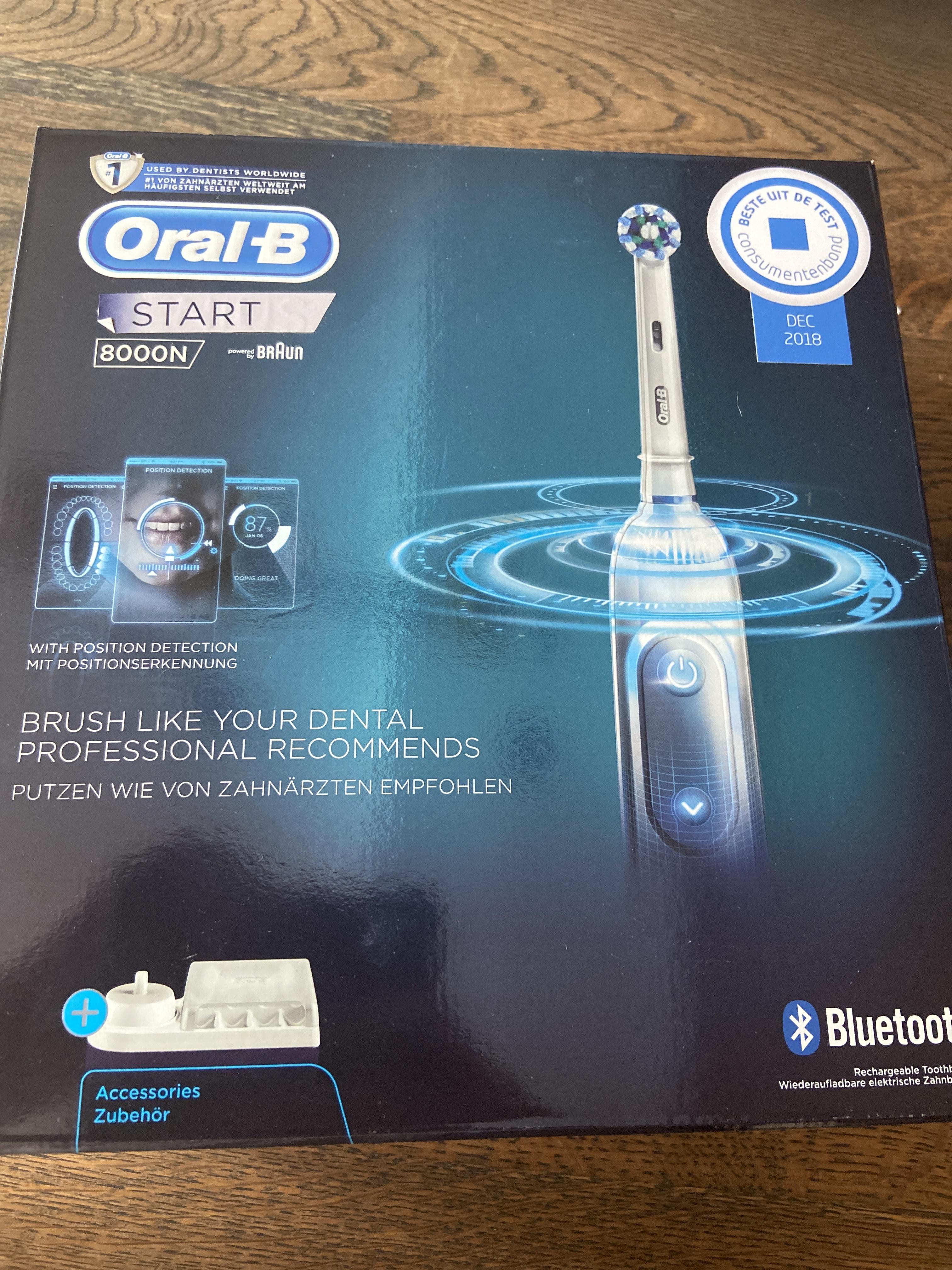 [kruidvat] Oral-b elektrische tandenborstel genius start nu €37,49