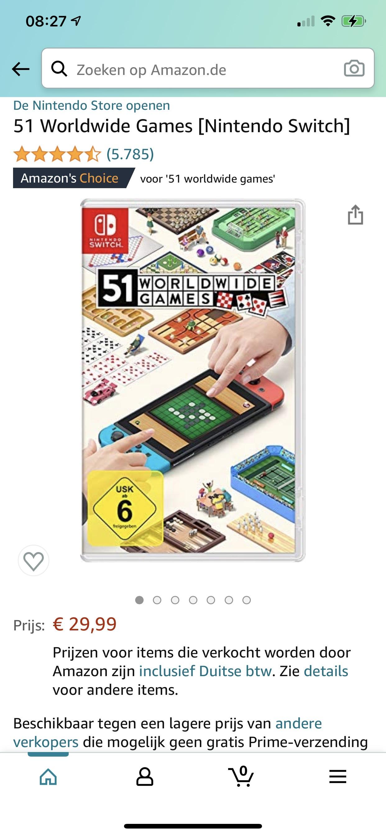 Nintendo Switch: 51 Worldwide Games
