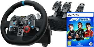 Logitech G29 Driving Force + F1 2021 PS4/PS5