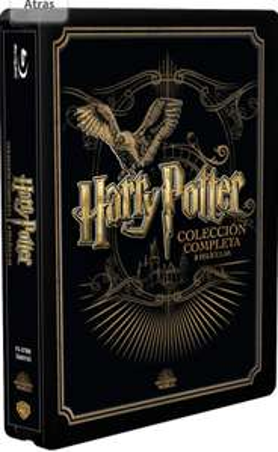 Harry Potter 8-film collectie - Blu-Ray [Steelbook]
