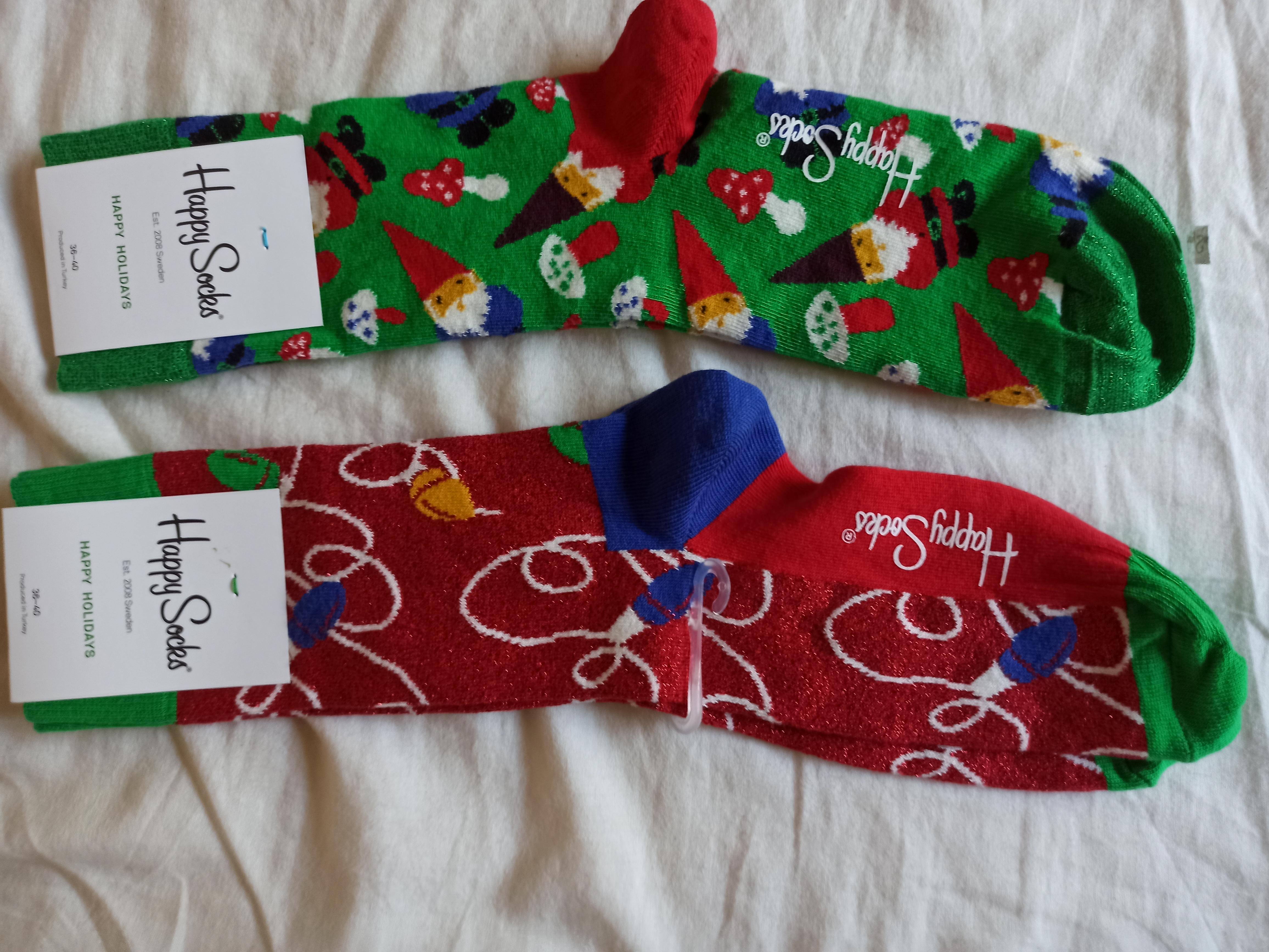 Happy Socks in-store bij Kruidvat €1.99 per paar.