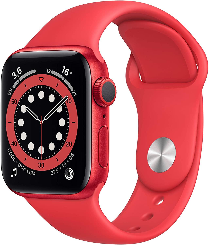 Apple Watch Series 6 (GPS, 40 mm) - Rood