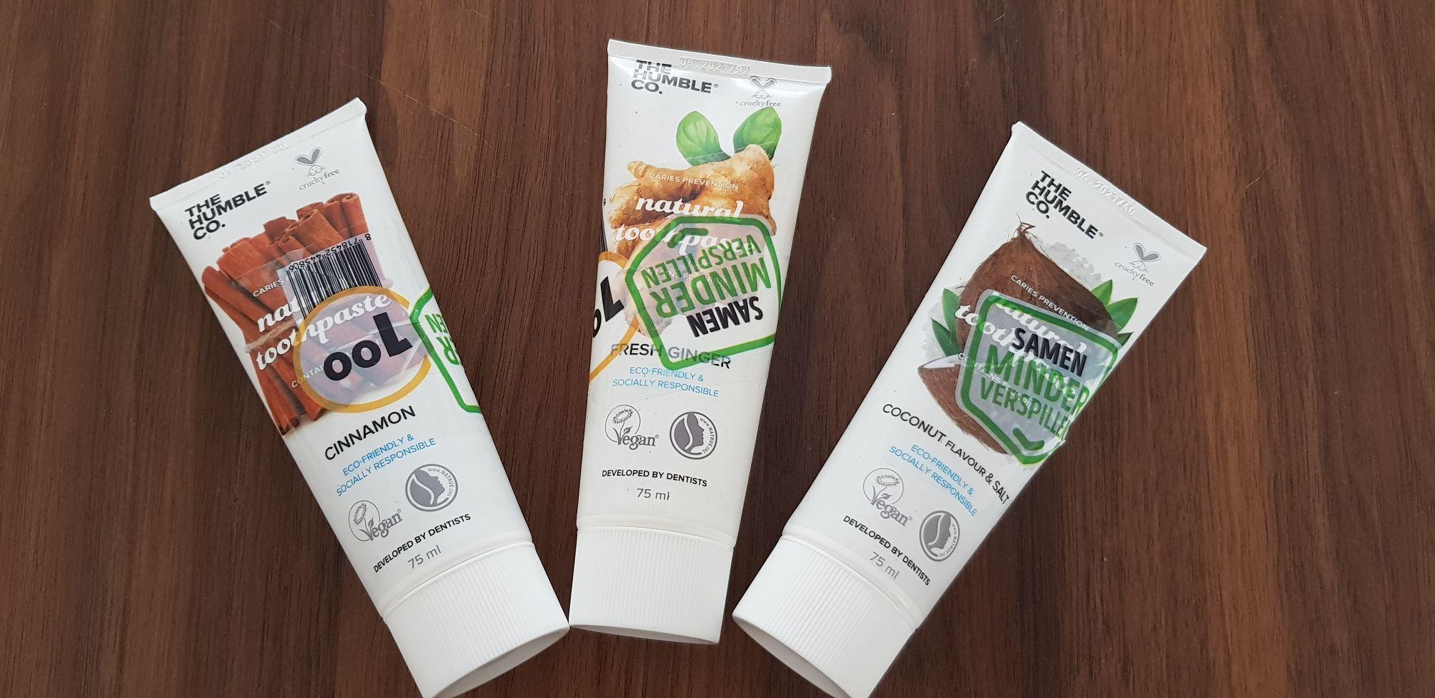 The Humble Co. natuurlijke tandpasta