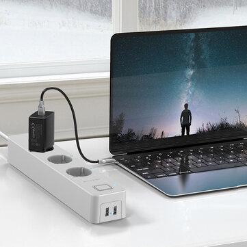 BlitzWolf BW-SHP9 smart verdeelstekker met USB - uit EU